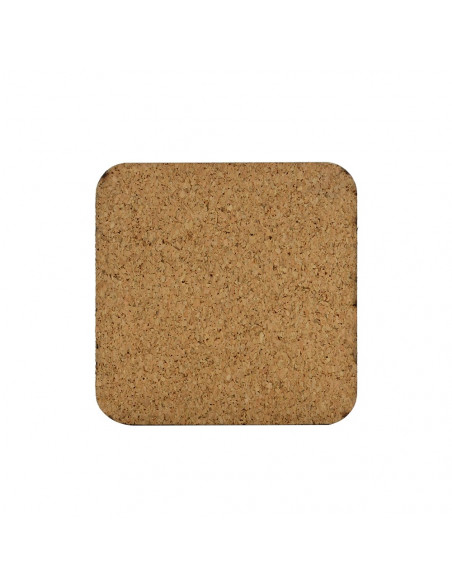 Sublimation MDF Coaster With Cork