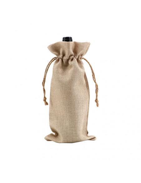 Sublimation Faux Burlap Wine Tote Bag