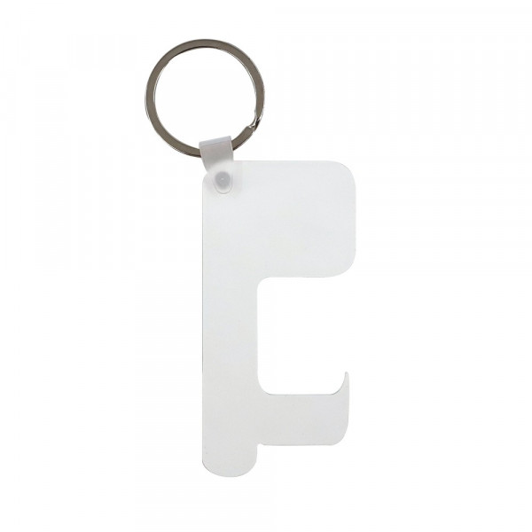 Sublimation Blank HPP Germ Free Key Chain