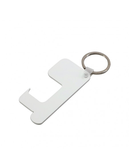 Sublimation Blank HPP Germ-Free Key Chain