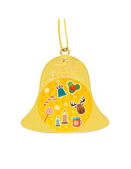Sublimation Metal Xmas Ornaments - Yellow