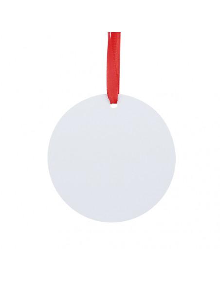 Sublimation Blank HPP Ornament - Round Shape