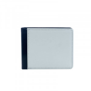 Sublimation Blank Men's PU Wallet with Pocket