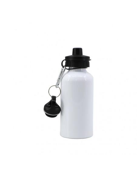 Sublimation Blank 500ml Aluminum Bottle - White