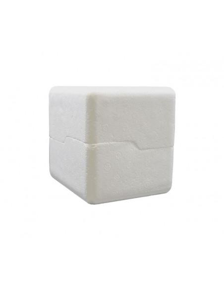 Polystyrene box for 11oz mugs (Pack of 203 u.) - Side closed