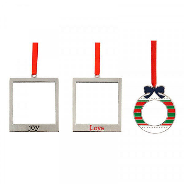 sublimation ornament blanks