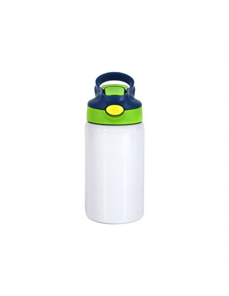 350ml Kids Stainless Steel Bottle with Straw