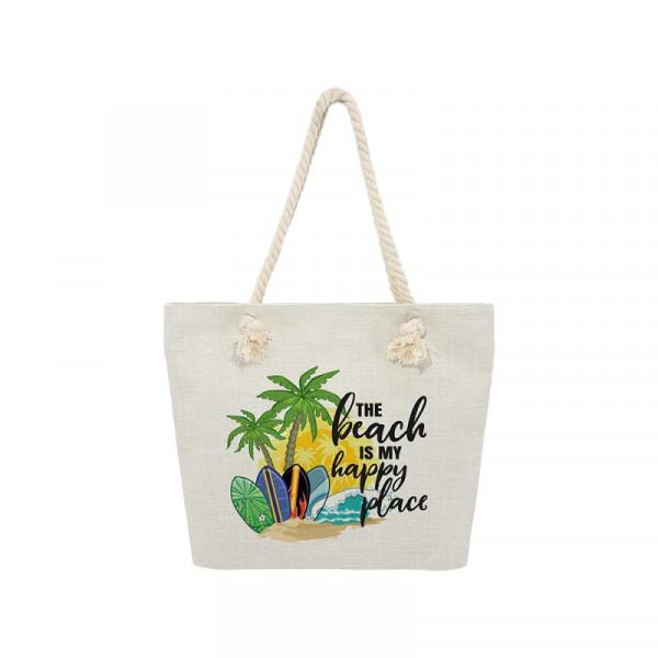 sublimation beach bags