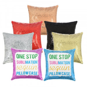 Sublimation Sequin Pillow Cover