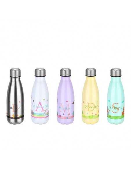 350ml Cola Shape Stainless Steel Bottle for sublimation