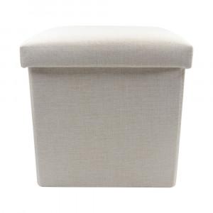 Sublimation Blank Linen Storage Stool