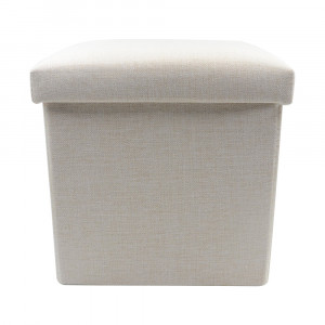 Sublimation Blank Linen Storage Stool