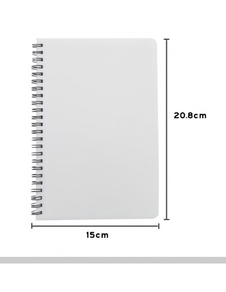 Sublimation Plastic Cover Notebook