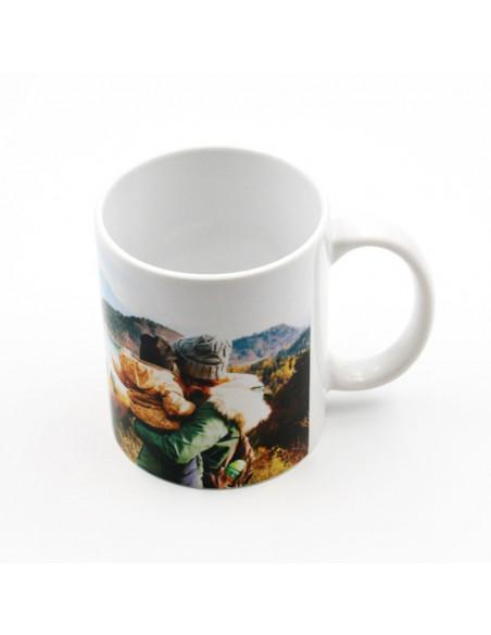 High Quality (AA) white ceramic mugs