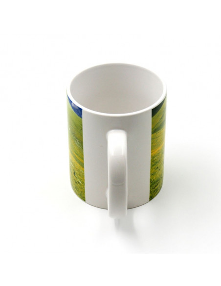 High Quality (AAA) white ceramic mugs