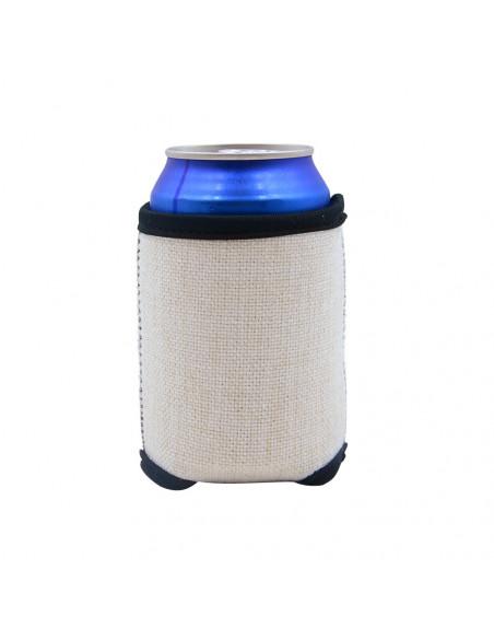 Sublimation Linen Can Cooler