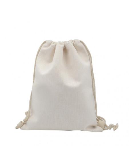 Sublimation Blank Linen Drawstring Bag