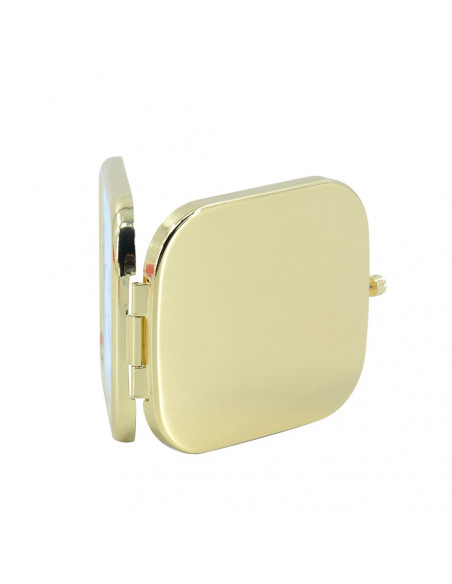 Sublimation Blank Compact Mirror Backside - Gold