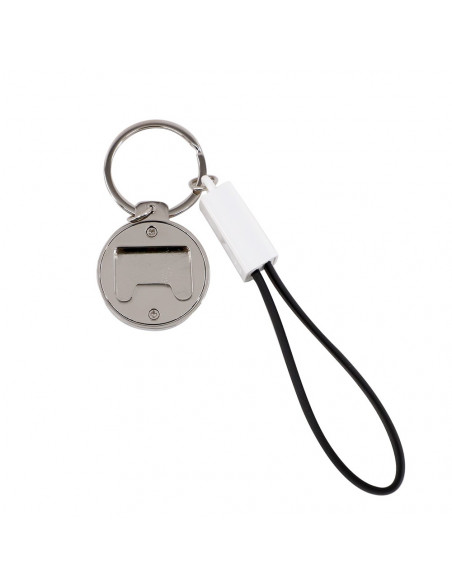 Sublimation PVC Keychain with USB Type-C Charging Cable & Bottle