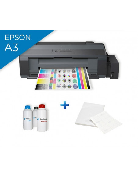Pack Epson EcoTank ET-14000 printer sublimation